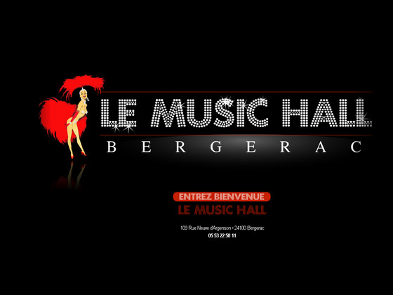 le music hall bergerac impresa web impresa web. Black Bedroom Furniture Sets. Home Design Ideas