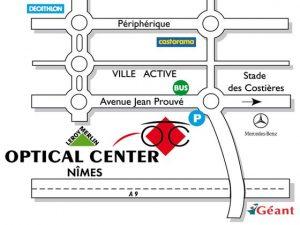 accès OPTICAL CENTER Nîmes.jpg