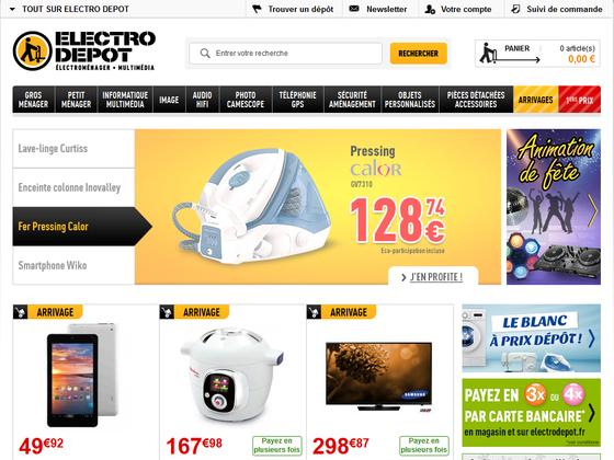 ELECTRO DÉPOT - Magazin électroménager multimédia Nîmes.png