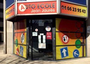 Permis de conduire Auto-École-Jean-Jaurès-à-Nîmes.jpg